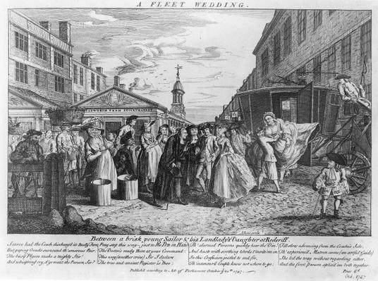 A Fleet Wedding, 1747