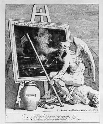 Time smoking a Picture, 1761