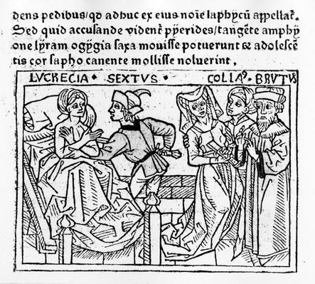 The Rape of Lucrecia