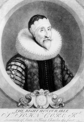 Sir John Coke, 1724