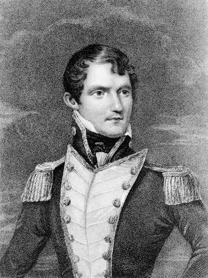 Captain John Dundas Cochrane, engraved by Henry Meyer, c.1824