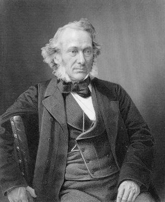 Richard Cobden, engraved by William Holl from a photograph, c.1860