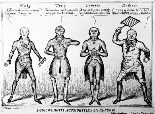 Four Weighty Authorities on Reform, 1831