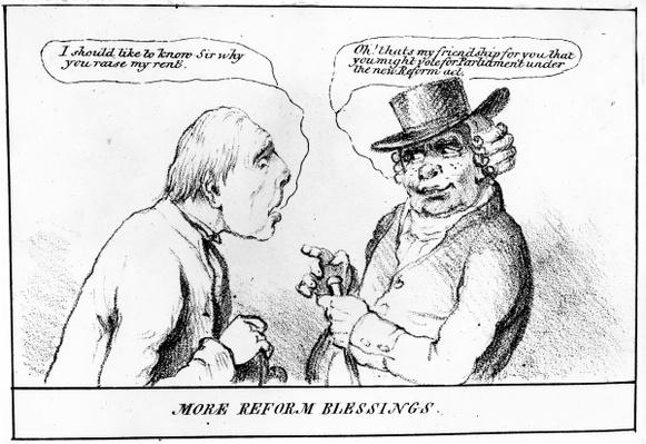 More Reform Blessings, 1832