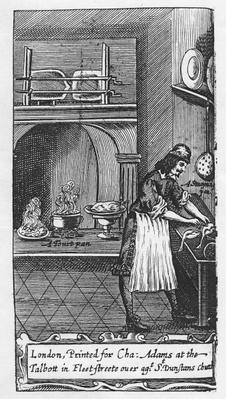 Frontispiece to 'The French Cook' by La Varenne, 1653