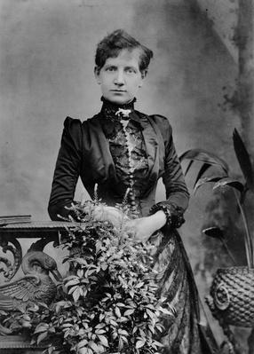 Alice Cornwell, 1885
