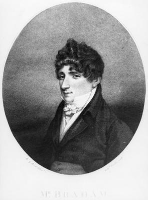 John Braham, engraved by Anthony Cardon, 1806