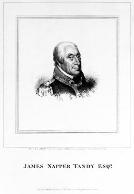 James Napper Tandy, engraved by James Heath, 1815