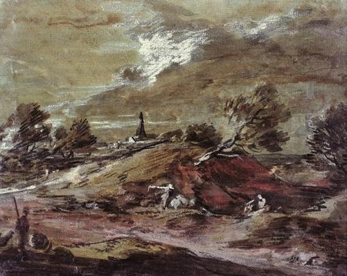 Landscape: Storm Effect, 18th century