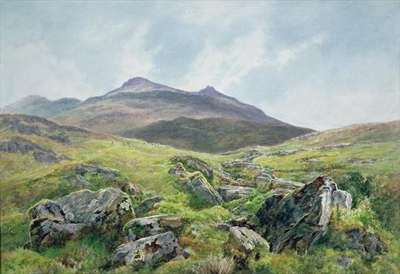 Landscape, Snowdon