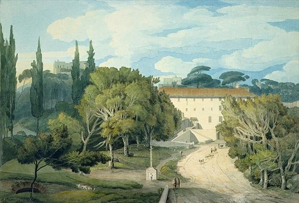 The Convent of St. Eufebio, near Naples