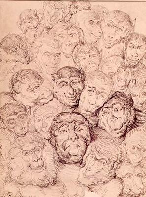 Monkey Faces, 1815