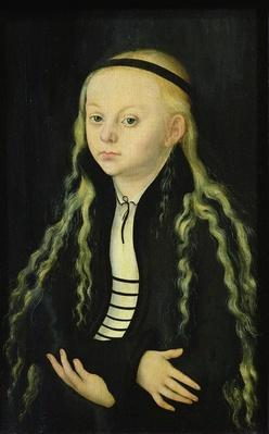 Portrait of a Young Girl, possibly Magdalena Luther