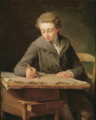 The young draughtsman, Carle Vernet, 1772