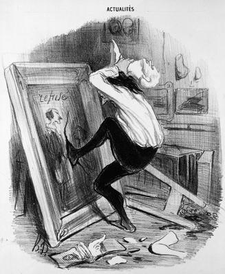 'Ungrateful country, you shall not have my masterpiece', 1840