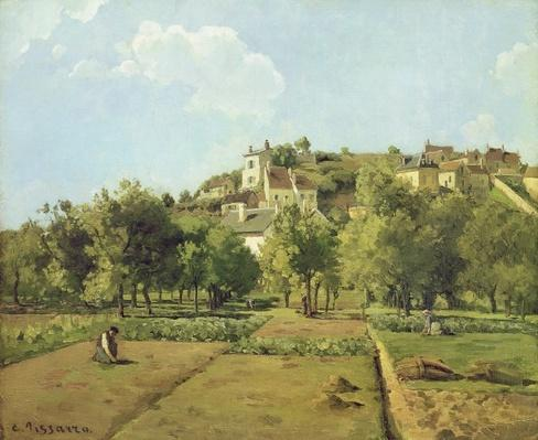 Pontoise, or The Gardens of the Hermitage, Pontoise, 1867