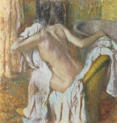 Woman drying herself, c.1888-92