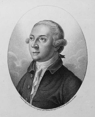 Thomas Pennant, engraved by Ambroise Tardieu