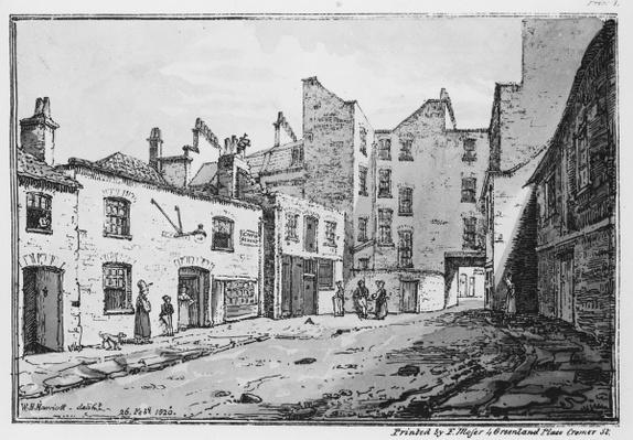 View of Cato Street, 1820
