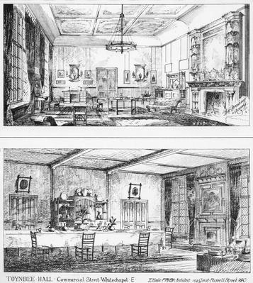 Interior of Toynbee Hall