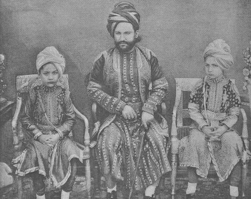 Son-in-Law and Grandsons of Sultan Shah Jahan, Begum of Bhopal