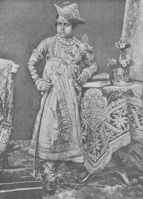 Maharaja Madho Rao Scindia of Gwalior