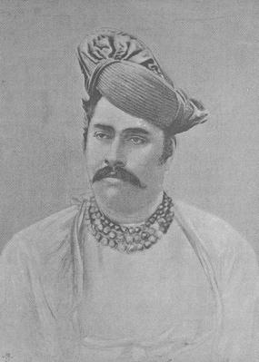 Maharaja Shivaji Rao Holkar of Indore