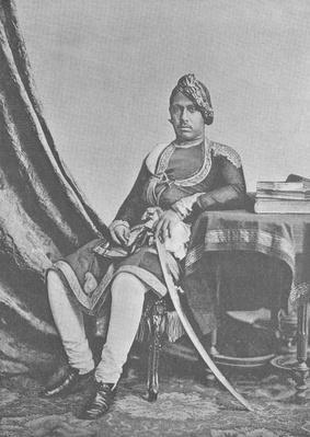 Maharaja Jashwant Singh of Bharatpur