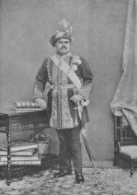 Maharaja Takhtsinhji of Bhavnagar