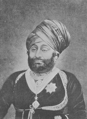 Maharaja Mansinhji II, Raj Sahib of Dhrangadhra