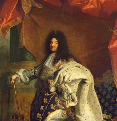 Louis XIV in Royal Costume, 1701