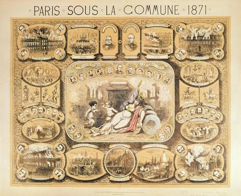 Scenes from the Paris Commune, 1871