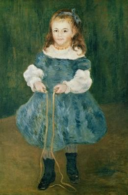 Girl with a skipping rope, 1876