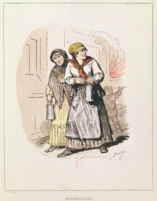 Two Petroleuses of the Commune, 1871