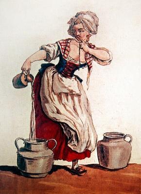 The Milkmaid, 1785