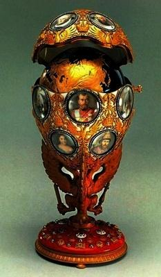 The Romanov Tercentenary Faberge Egg, 1913