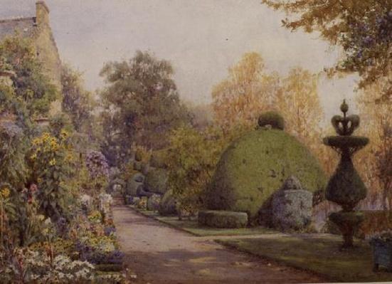 The Yew Walk, Barncluith, Strathclyde