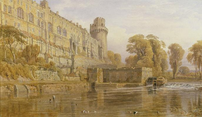 Warwick Castle from the Avon