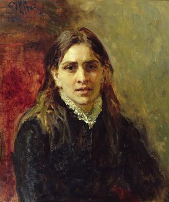 Portrait of Pelageya Antipovna Strepetova