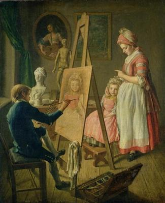 The Young Artist, c.1760