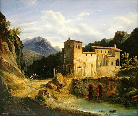 View of a Monastery, 1827
