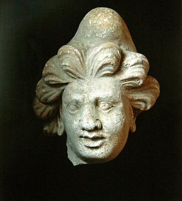 Head of a man wearing a Phrygian cap