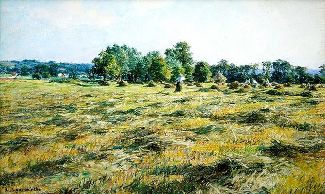 Haymaking, c.1887
