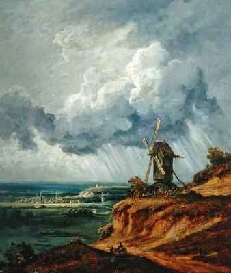 The Windmill of Argenteuil, c.1830