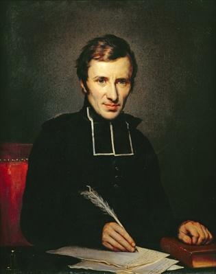 Portrait of the Abbot of Lamennais, 1827