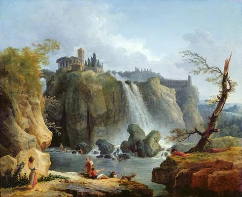 The Falls of Tivoli, 1768