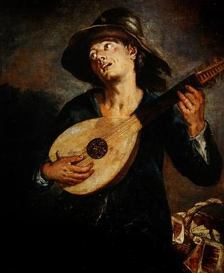 Singer with a Lute