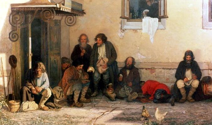 Dinner at the Zemstvo, 1872