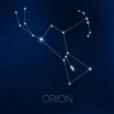 Orion constellation in night sky | Earth and Space