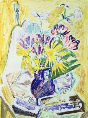 Flowers in a Vase, 1918-19